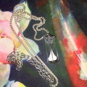 Jewelry - Mini Hourglass Pendant⏳